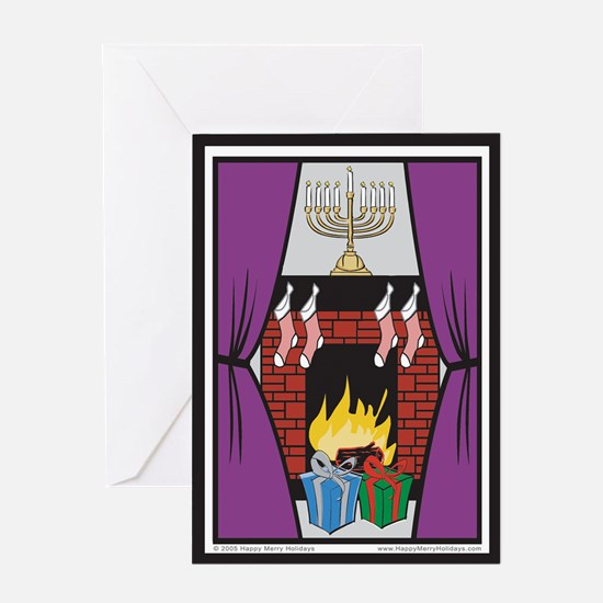 Cute Happy channukah Greeting Card