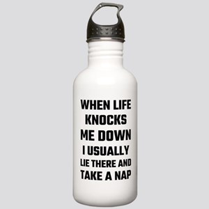 When Life Knocks Me Do Stainless Water Bottle 1.0L