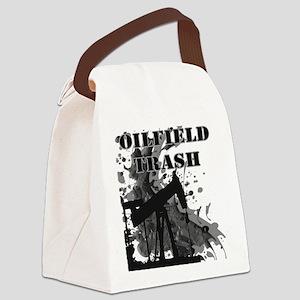 Oilfield Oil Splash Canvas Lunch Bag