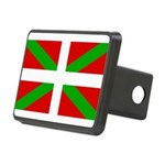 Basque Flag Rectangular Hitch Cover