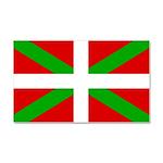 Basque Flag Car Magnet 20 x 12