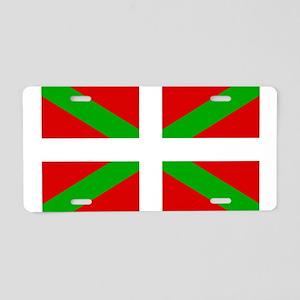 Basque Flag Aluminum License Plate