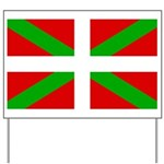 Basque Flag Yard Sign