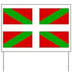 Basque Flag Yard Sign