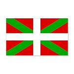 Basque Flag 20x12 Wall Decal