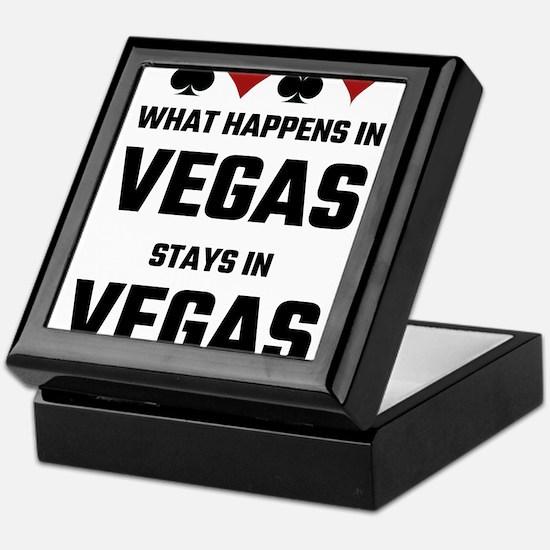 What Happens In Vegas Stays In Vegas Keepsake Box
