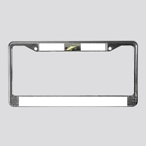 Richard Speed Blur License Plate Frame