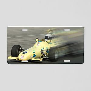 Richard Speed Blur Aluminum License Plate