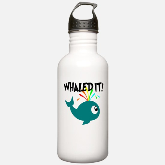 Whaled It! Water Bottle