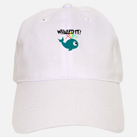 Whaled It! Baseball Baseball Cap