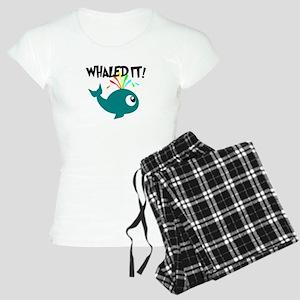 Whaled It! Women's Light Pajamas