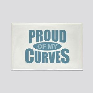 Proud of My Curves - Blue Magnets