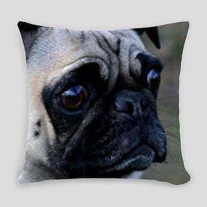 Pug dog Everyday Pillow