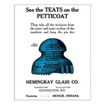 Teats On The Petticoat Small Poster