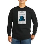 Teats Long Sleeve Dark T-Shirt