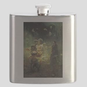 Underwater Kingdom Flask