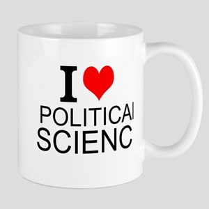 I Love Political Science Mugs