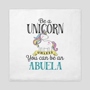 Unicorn ABUELA Queen Duvet