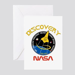 STS 120 Discovery NASA Greeting Cards (Pk of 10)