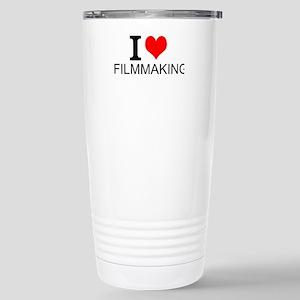 I Love Filmmaking Travel Mug