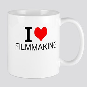 I Love Filmmaking Mugs