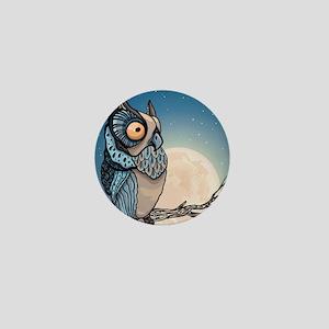 Night Owl Mini Button