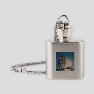 Night Owl Flask Necklace