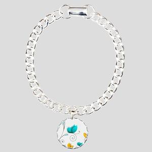 Elegant Flowers Bracelet