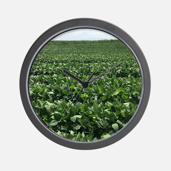 Cute Soybeans Wall Clock