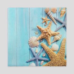 Seashells Queen Duvet