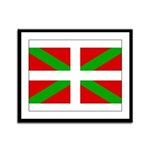 Basque Flag Framed Panel Print