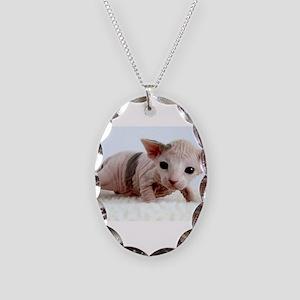sphynx kitten Necklace