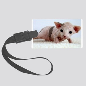 sphynx kitten Luggage Tag