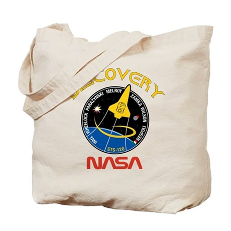 STS 120 Discovery NASA Tote Bag