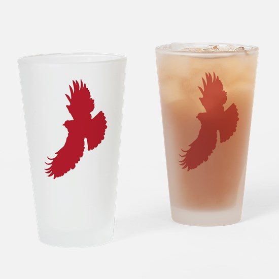 Eagle Silhouette Drinking Glass