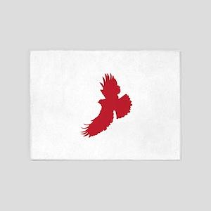 Eagle Silhouette 5'x7'Area Rug