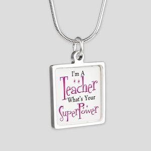 Super Teacher Necklaces