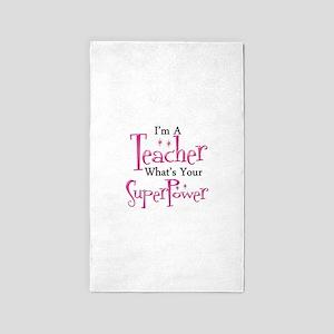 Super Teacher Area Rug