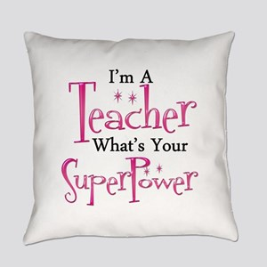 Super Teacher Everyday Pillow