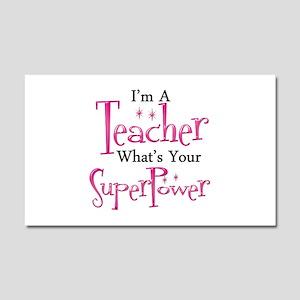 Super Teacher Car Magnet 20 x 12