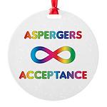 Aspergers Acceptance Ornament