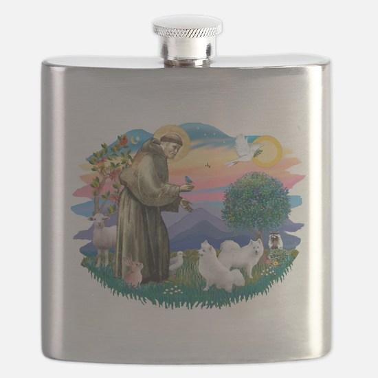 St.Francis #2/ Am Eskimo (2) Flask