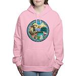 St Francis/Am Eskimo #3 Women's Hooded Sweatsh