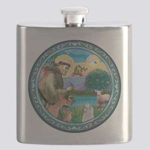 St Francis/Am Eskimo #3 Flask