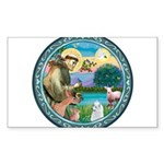 St Francis/Am Eskimo #3 Sticker (Rectangle 10 pk)