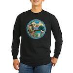 St Francis/Am Eskimo #3 Long Sleeve Dark T-Shirt