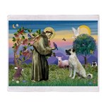 SAINT FRANCIS Throw Blanket