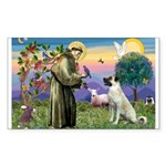 SAINT FRANCIS Sticker (Rectangle 10 pk)