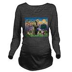 St Francis & Aussie Long Sleeve Maternity T-Shirt