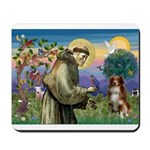 St Francis/ Aus Shep Mousepad